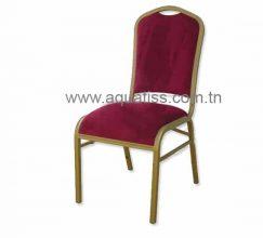 Chaise banquet aluminium