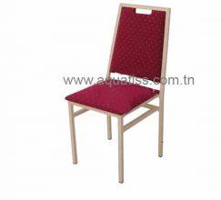 Chaise banquet aluminium empilable CONF