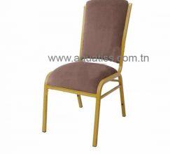 Chaise banquet aluminium CONFORT