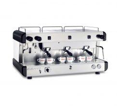 Machine à café espresso CONTI CC100SA Semi automatique 03 groupes