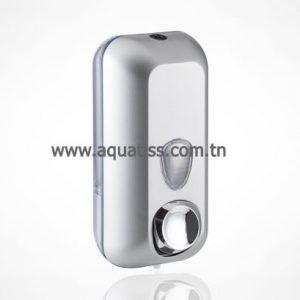 Distributeur de savon en ABS blanc 0.55 L