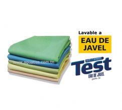 Sur-nappe 90x90 cm polyester viscose Rehaussez votre nappe par notre sur-nappe carrée polyester viscose. Bords ourlés avec qualité digne des grands gastronomes.