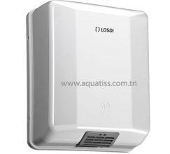 Sèche mains optique 1600 W blanc LOSDI