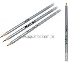crayon noir ronde Personnalisé
