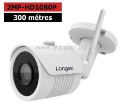 Caméra 2EN1 Wifi-câble extérieure-intérieure 2MP IP66 LONGSE