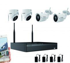 Kit Caméra vidéo surveillance Wifi extérieur LONGSE