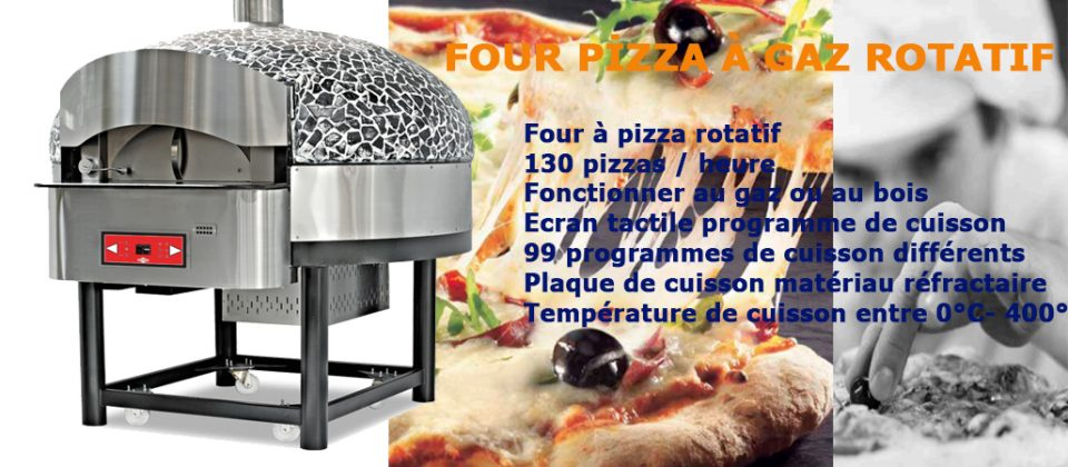 FOUR PIZZA ROTATIF
