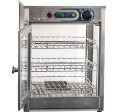 Vitrine chauffante 30 à 85 °C avec éclairage 600 W FIONA
